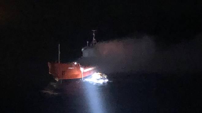 Costa Luminosa salvataggio Mar Egeo