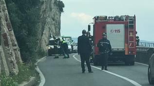 Capo Santo Spirito Crollo Bus