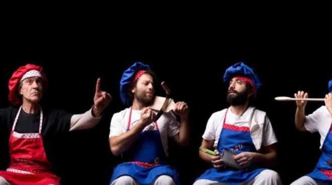 """""""Disaster Chef"""" spettacolo teatrale Ritmicliando"""