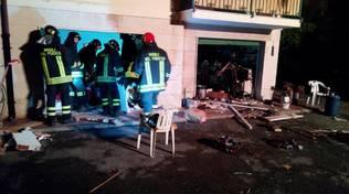 Esplosione in un garage di Borgio Verezzi