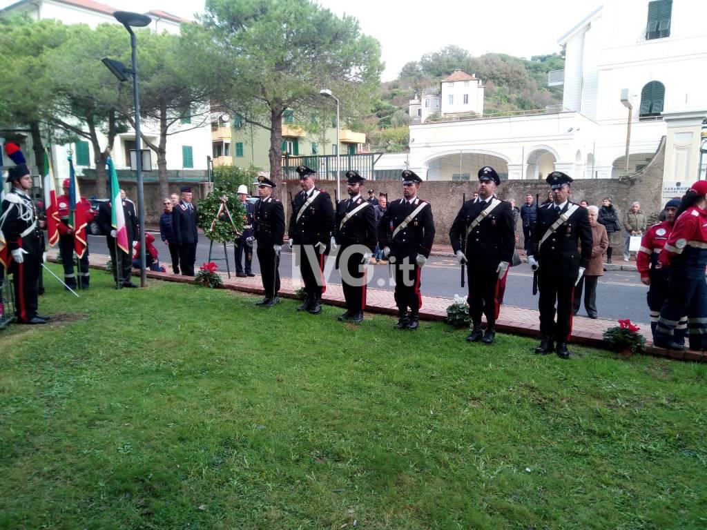 Finale ricorda il carabiniere Daniele Ghione caduto a Nassiriya