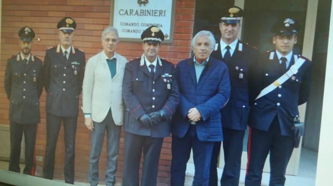 Generale Cetola comando compagnia cc Alassio