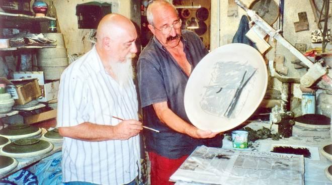 Giovanni Poggi e Francesco Preverino artista