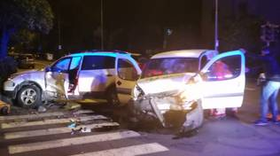 Incidente stradale Andora