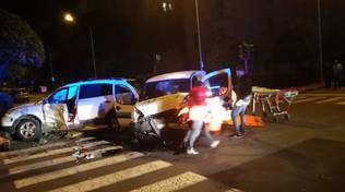 Incidente stradale Andora