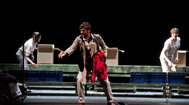 """""""La classe operaia va in paradiso"""" Teatro della Corte"""