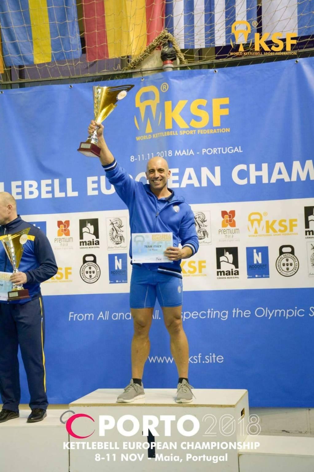 La Only Kettlebell al campionato europeo di Oporto