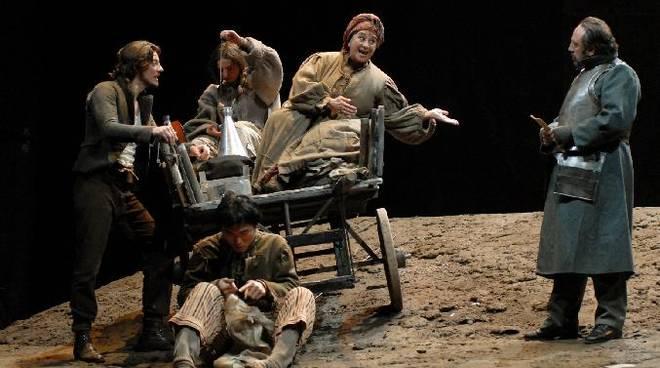 """""""Madre Courage e i suoi figli"""" spettacolo teatrale"""
