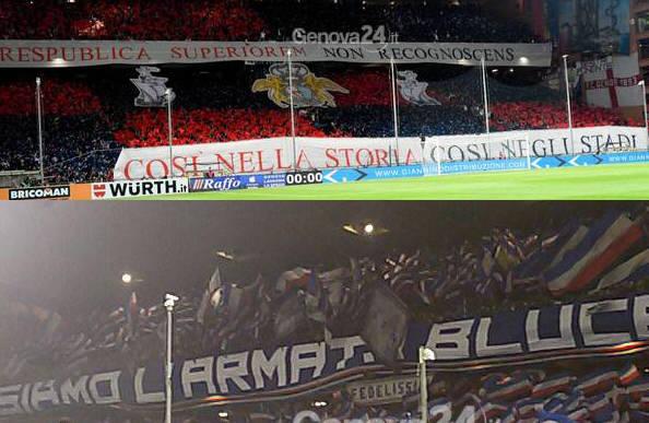 mix derby genoa-sampdoria,