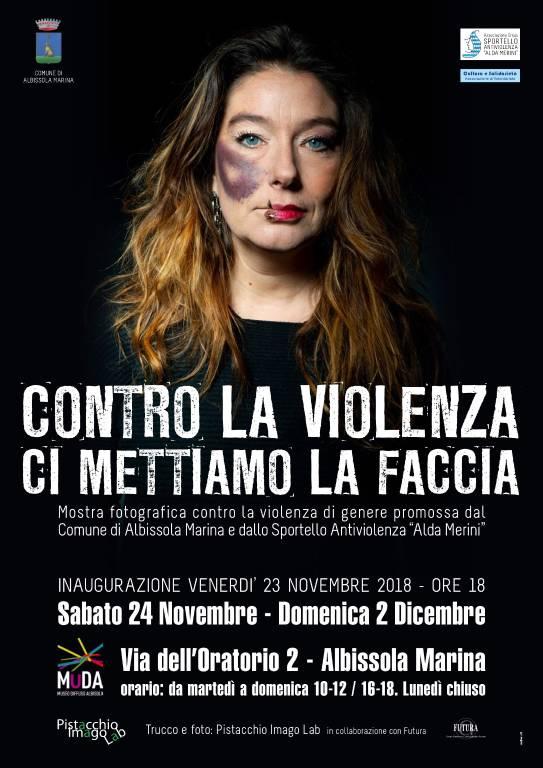 Mostra fotografica violenza donne MUDA Albissola Marina