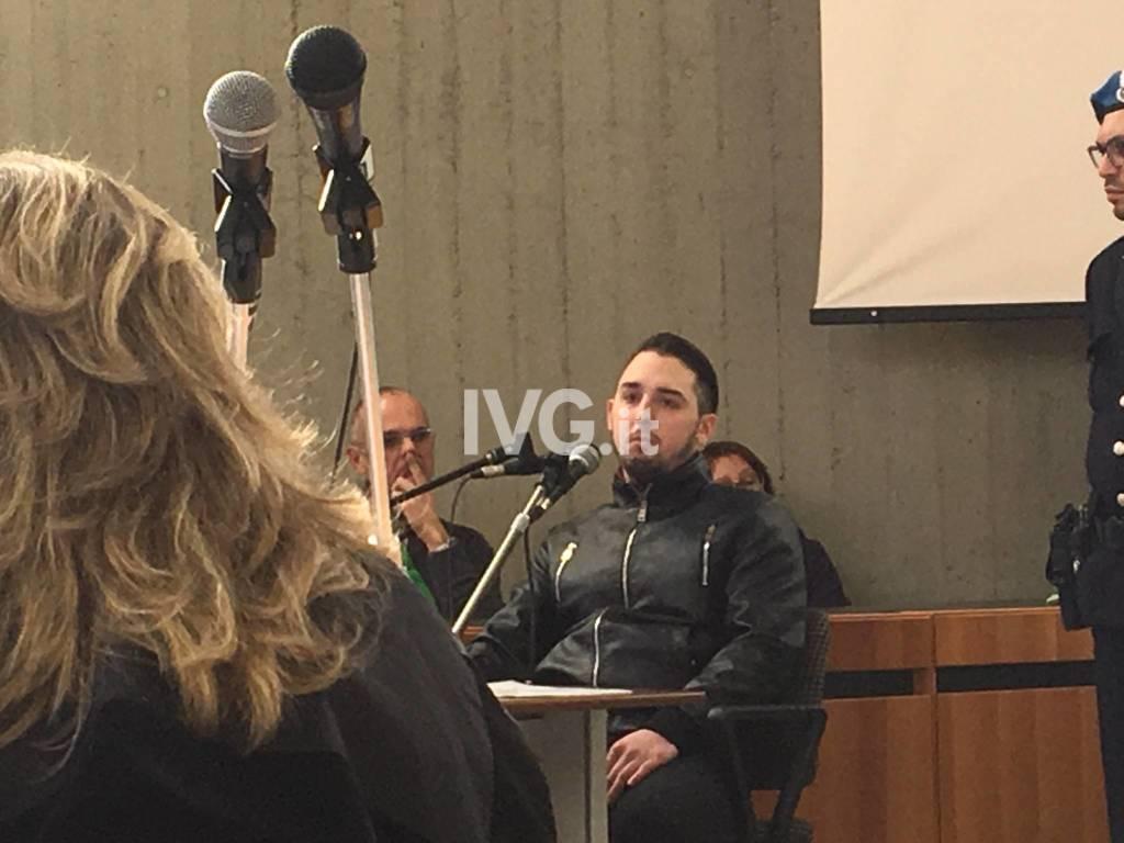 Omicidio di Janira, Alessio Alamia in tribunale