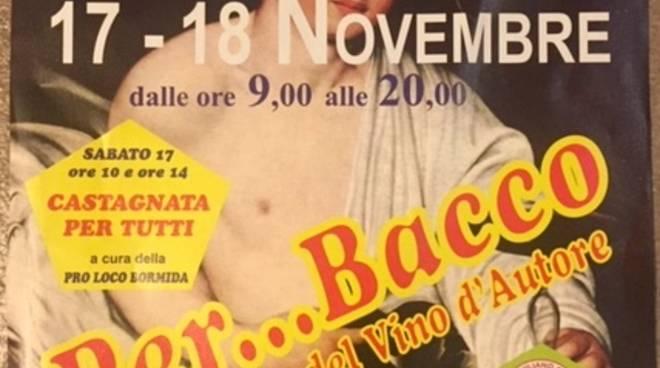 Per...Bacco - Rassegna Vino d'Autore Savona 2018