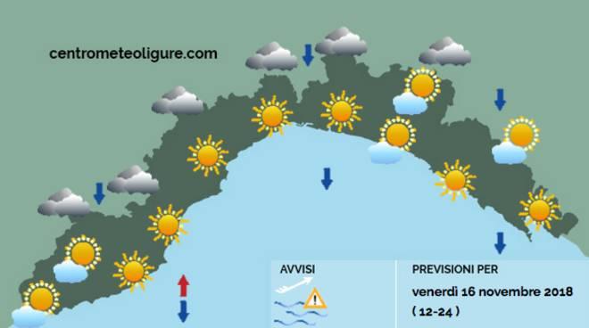 previsioni 16 novembre