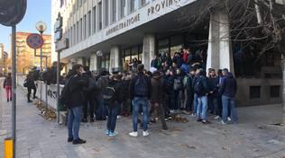 protesta studenti scientifico
