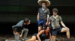 """""""Ragazzi di vita"""" Pier Paolo Pasolini Teatro della Corte"""