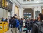 ritardi treni stazione principe