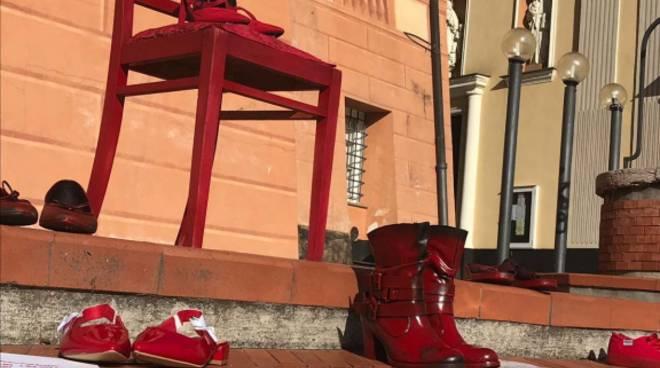 scarpe rosse boissano