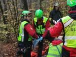 soccorso nei boschi