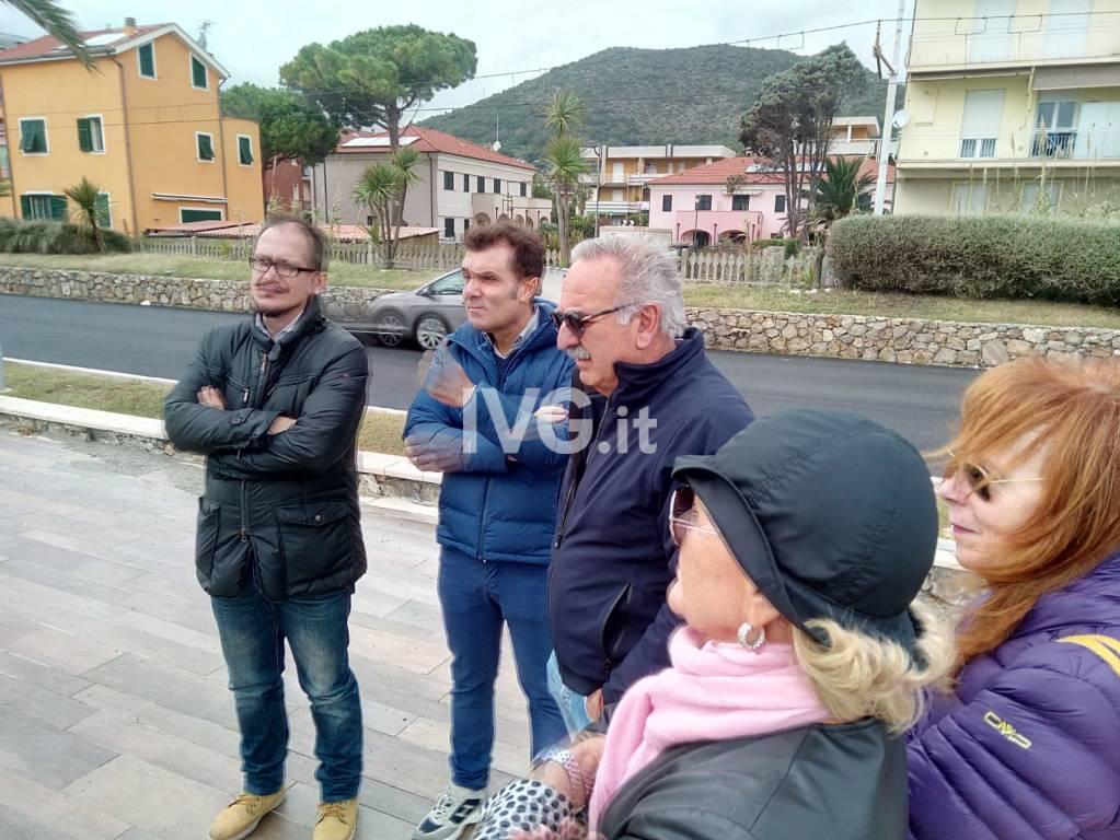 Sopralluogo Lunardon e De Vincenzi nel ponente