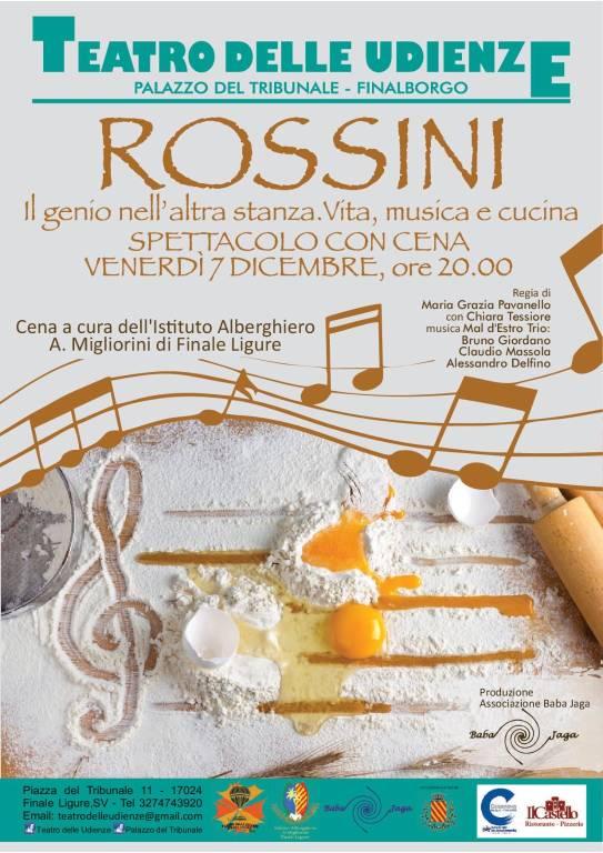 """""""Rossini, il genio nell'altra stanza"""" concerto Finale Ligure"""