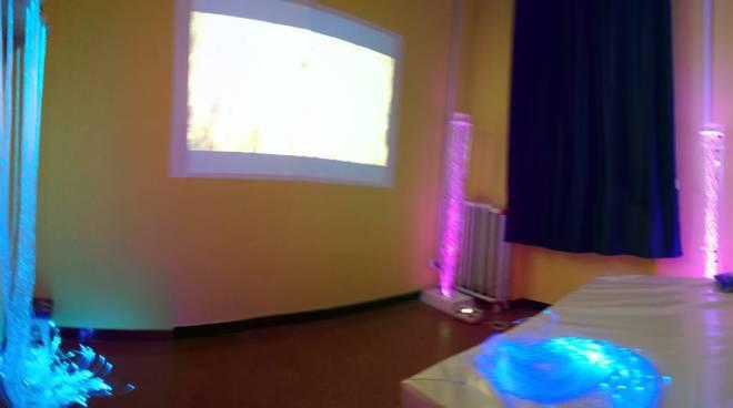 stanza aula multisensoriale