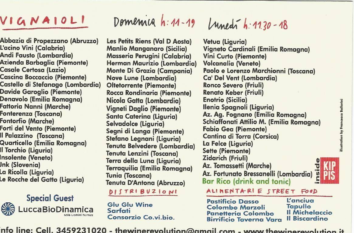 The Wine Revolution 2018 Sestri Levante
