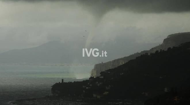 Tromba d'aria a Pietra Ligure
