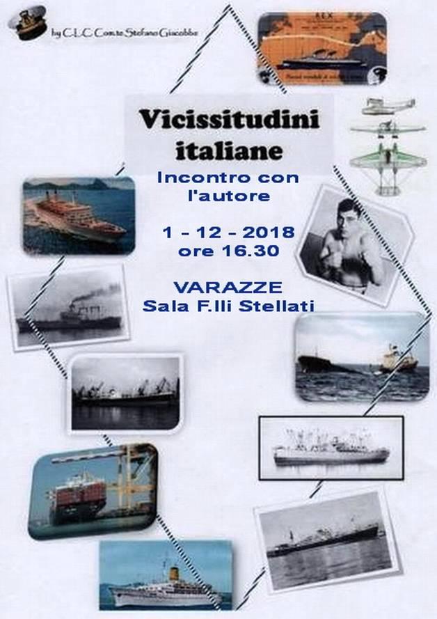 """""""Vicissitudini italiane"""" libro Stefano Giacobbe"""