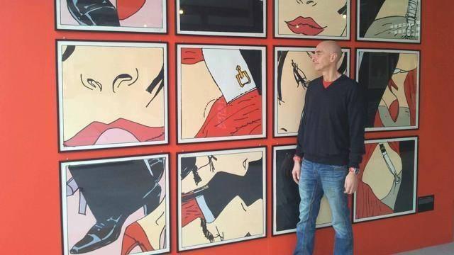 Massimo Cotto mostra d'arte