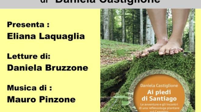 """""""Ai piedi di Santiago"""" libro Daniela Castiglione Albenga"""