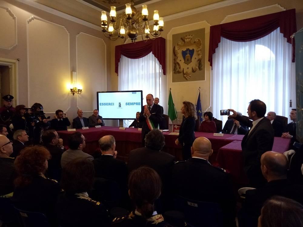Alassio, cittadinanza onoraria alla Polizia di Stato