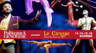 """Alis"" Cirque du Soleil Politeama Genovese"