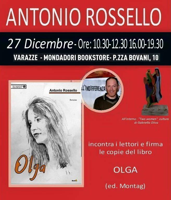 Antonio Rossello incontro scrittore - lettori Varazze