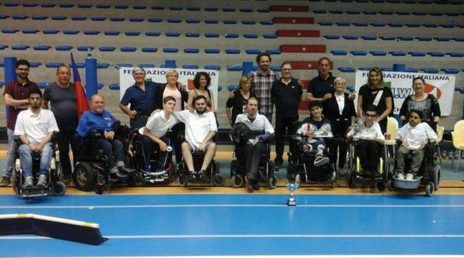 asd blue devils wheelchair hockey