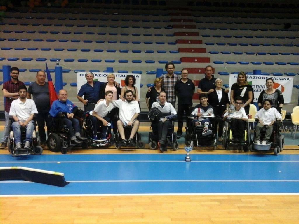 asd blue devils wheelchair hockey