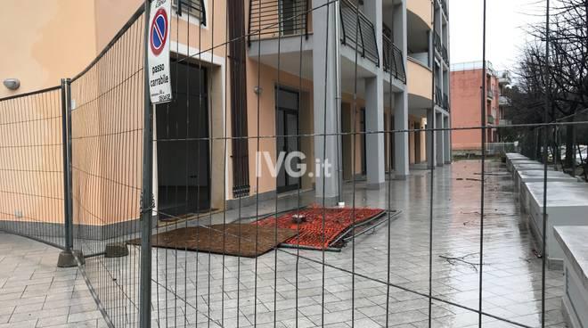 Bonifica messa in sicurezza palazzine via Milano Albenga
