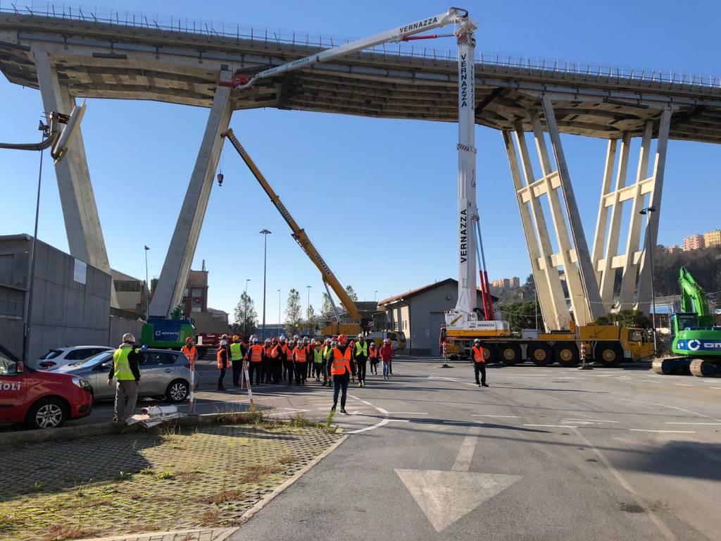 Cantiere ponte Morandi