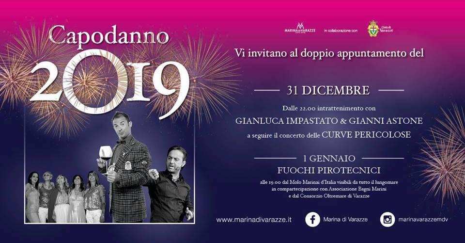 Capodanno 2019 Marina di Varazze