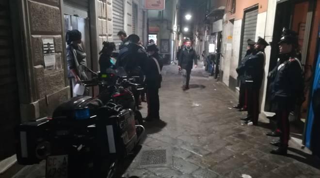carabinieri pattuglione  centro storico decoro alcol controlli vicoli