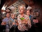 Stasera The Fleshtones + Snake Oil ltd live at Raindogs House