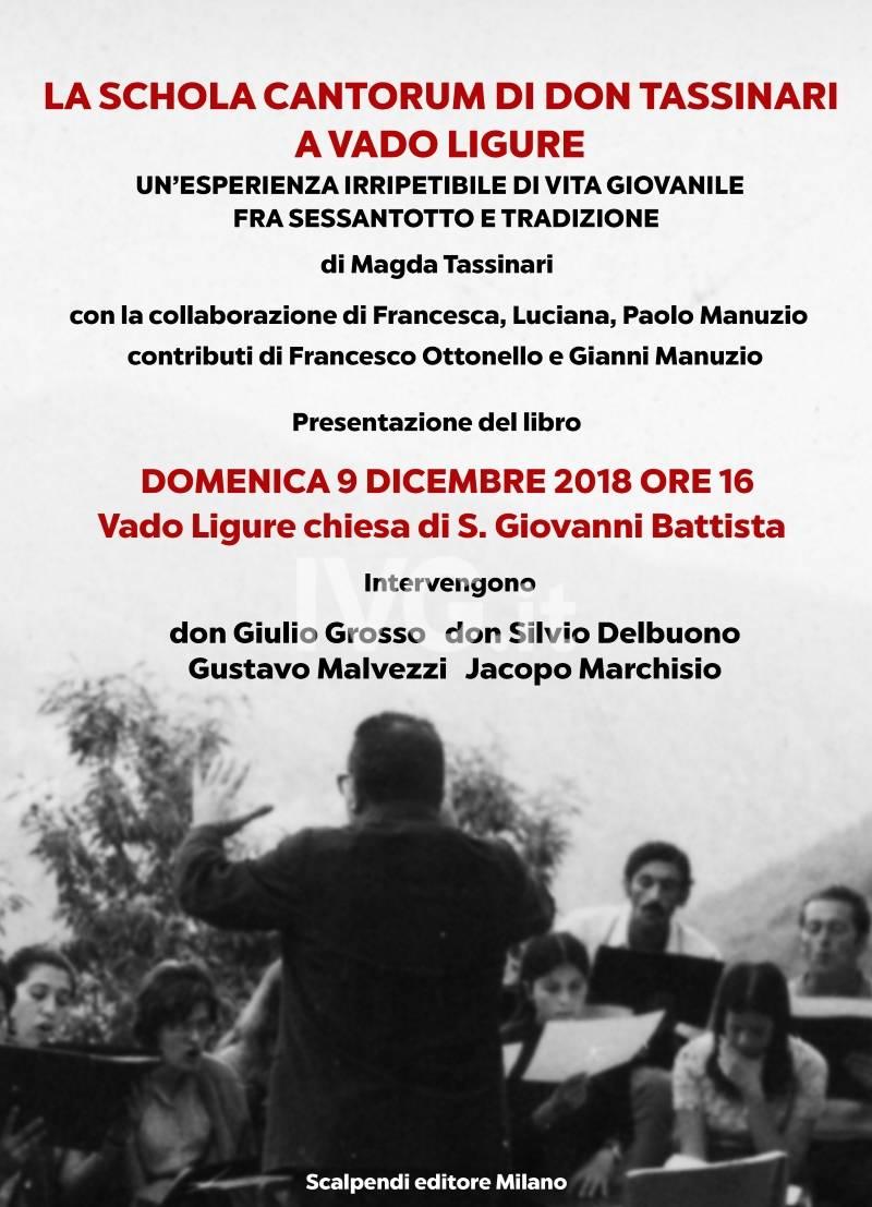 Presentazione libro LA SCHOLA CANTORUM DI DON TASSINARI A VADO LIGURE