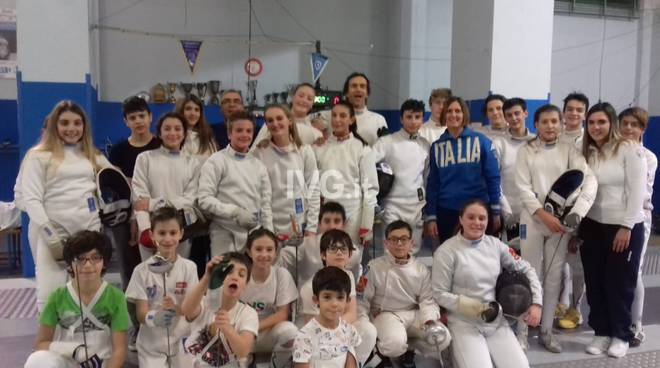 CAMPUS DI SPADA SU CONVOCAZIONE per gli atleti della Scuola di Scherma Leon Pancaldo