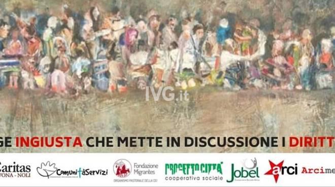 Domani a Savona: due incontri sul Decreto Sicurezza