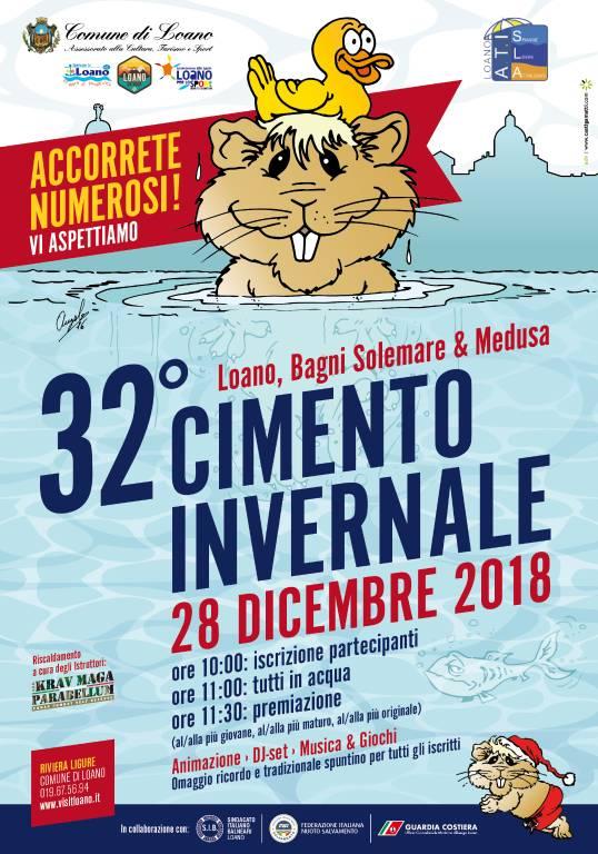 Cimento Invernale di Nuoto Loano 2018