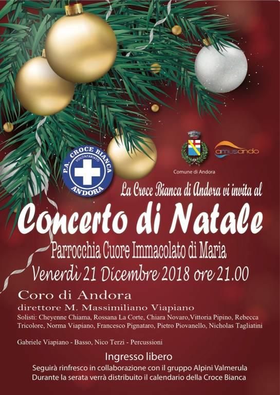 Concerto Coro Andora Natale 2018