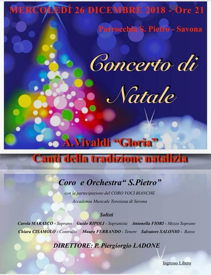 Concerto di Natale Coro San Pietro Savona