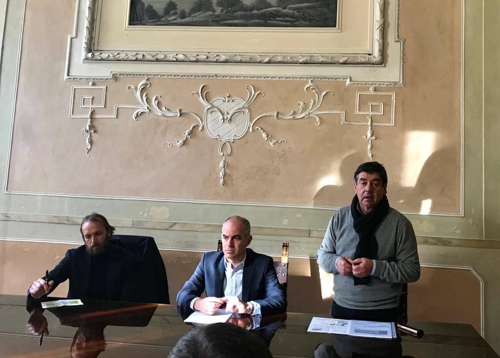 Conferenza stampa Albenga Niero Cangiano Vio