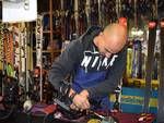 Dario Taddei, l'artigiano degli sci della riviera di ponente