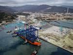 Ecco le gru per i container della piattaforma Maersk