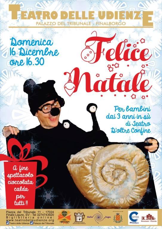 """""""Felice Natale"""" spettacolo bambini Teatro d'Oltre Confine"""